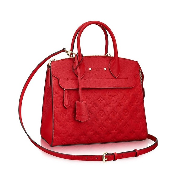 a0c6c77e Louis Vuitton Pont- Neuf MM Cherry Red AUTHENTIC NWT